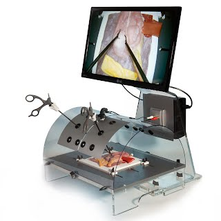 Desktop laparoscopic trainer
